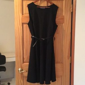 Fit and Flare Little Black Dress - Size 20